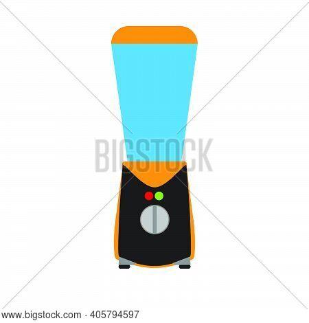 Kitchen Blender Vector Illustration Appliance Cooking Mixer Equipment Food Icon. Household Blend Jui