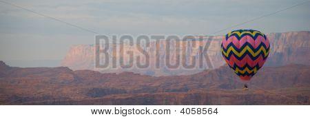 Vivid Balloon Panorama