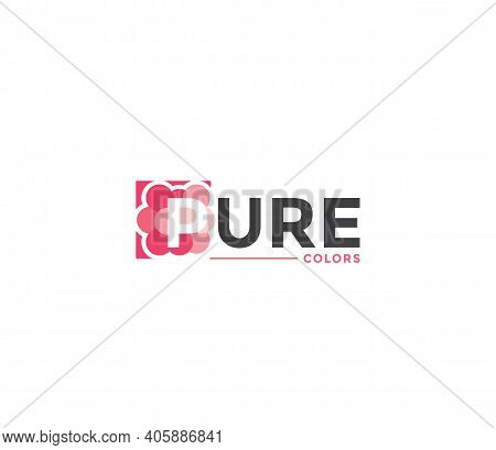 Pure Colors Company Business Modern Name Concept