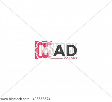 Mad Colors Company Business Modern Name Concept