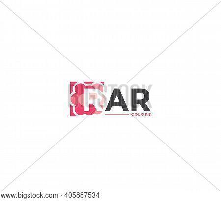 Rar Colors Company Business Modern Name Concept