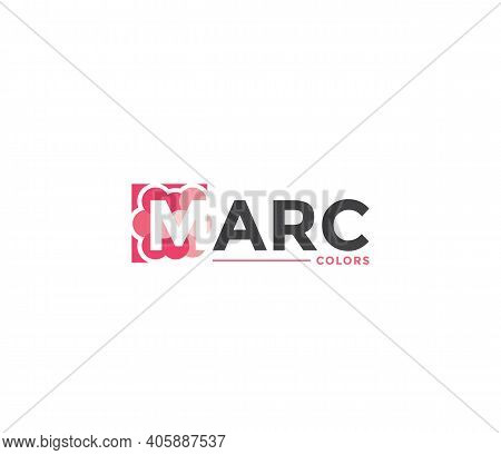 Marc Colors Company Business Modern Name Concept
