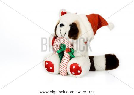 Christmas Raccoon Toy