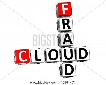 3D Fraud Cloud Crossword
