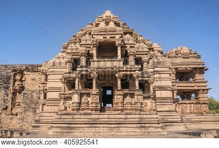 Sasbahu Temple 11th Century Twin Temple In Gwalior, Madhya Pradesh, India