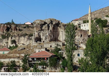 Belisirma, Turkey - October 5, 2020: It Is A Fragment Of The Picturesque Village In The Center Of Th