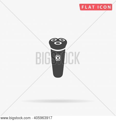 Electric Shaver Flat Vector Icon. Hand Drawn Style Design Illustrations.