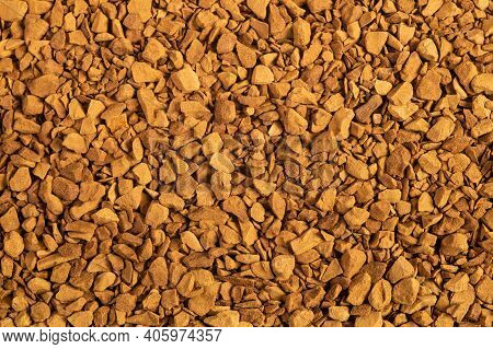 Granulated Of Soluble Coffee Background, Food Background