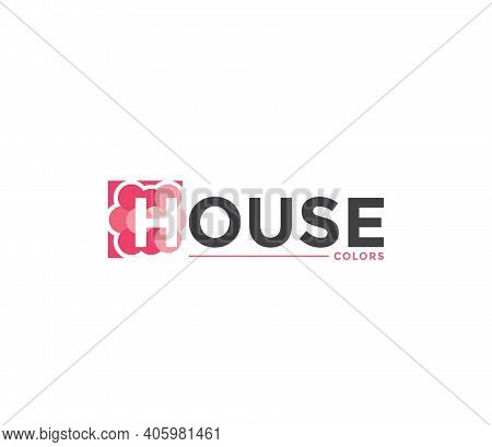 House Colors Company Business Modern Name Concept