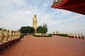 Standing buddha statue in Fo Guang Shan Kaohsiung Taiwan poster