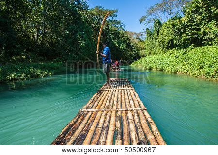 Bamboo River Tourism In Jamaica
