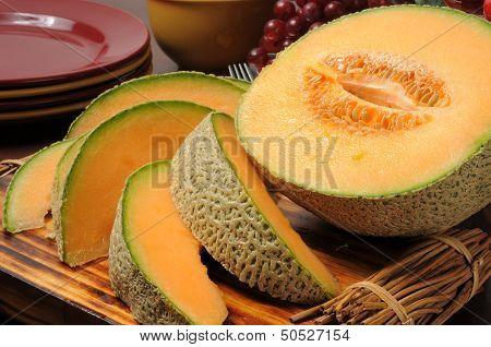 Fresh Slice Canteloupe