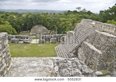 Stairs At Caracol