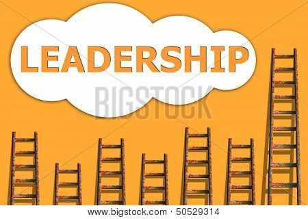 Leadership,wording About Success Of Business