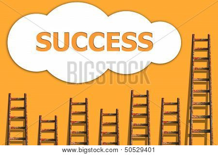 Success,wordding About Success Of Business
