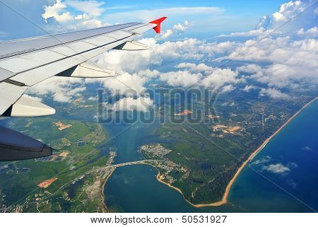 Phuket View From The Plane