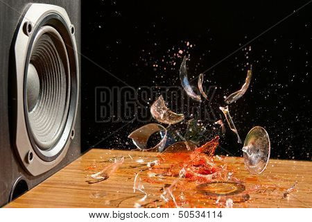 Loud Music Can Cause Damage - Studio Shot