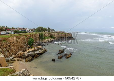 Sri Lanka, South Coast. City ??of Galle