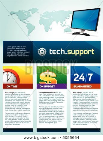 Tech Support Brochure