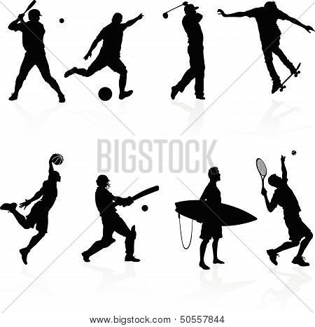 Sporting Silhouettes