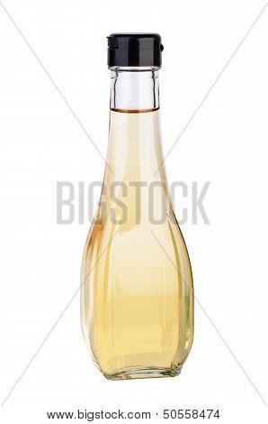 Decanter with white balsamic (or apple) vinegar