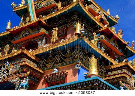 tibetische Tempel coorg