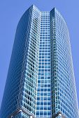 New skyscrapers business centre in moscow Russia poster