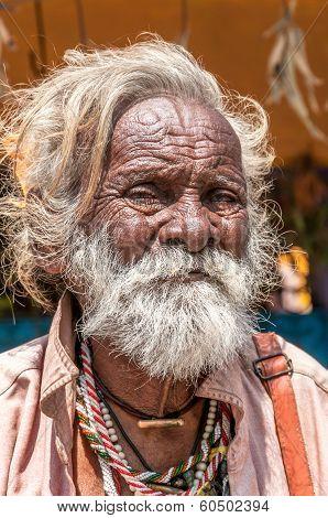 Old Man From Mamallapuram