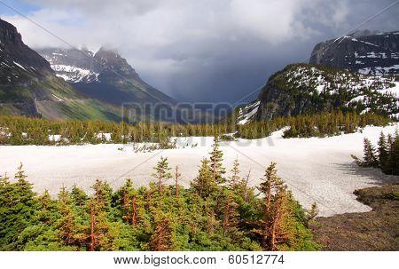 Logan pass in Montana