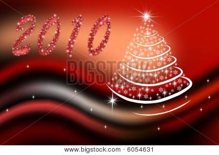 New-year fir-tree