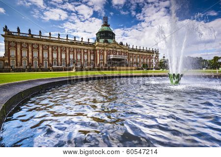 Potsdam, Germany at Neues Palais.