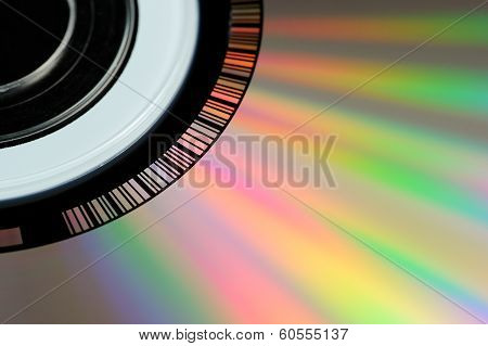 CD or DVD Close-Up