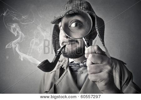 Black and white detective