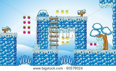 2D Tileset Platform Game