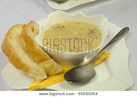 Sour Barley Soup