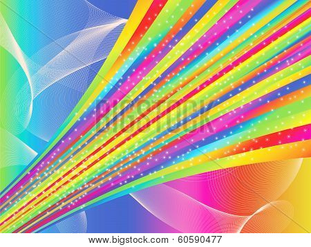 A Bright Abstract Illustration