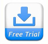 free trial promotion product test sample. Sign icon or label for advertising new items. poster