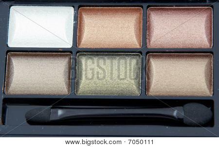 Close-up Of Eye Shadow Kit