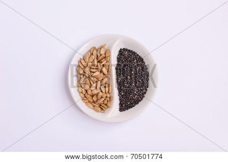 Sunflower Kernel And Black Sesame Seed