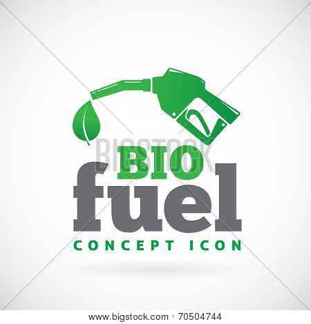 Bio fuel vector symbol icon