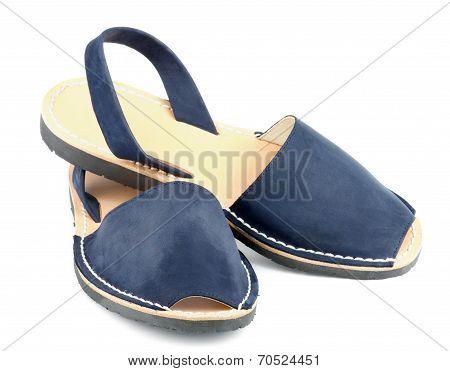 Blue Sandals Avarcas