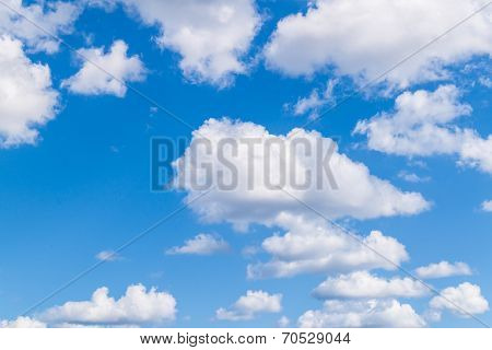 Background Of Sky