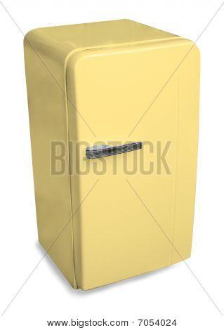 Classic Fridge yellow