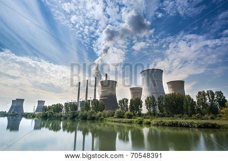Thermal Power Station - Turceni, Romania