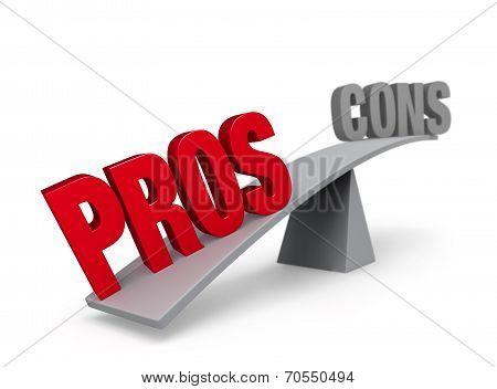 Pros Outweigh Cons