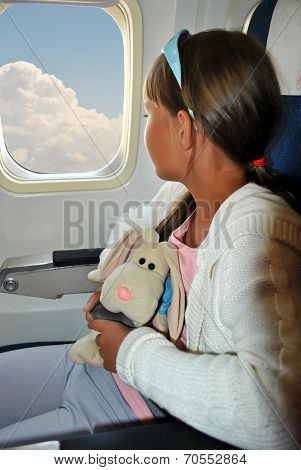 Girl On A Plane