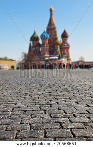 Stones On Red Square, Moscow