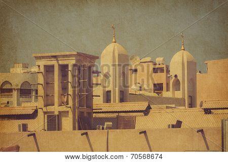 Dubai Architecture. United Arab Emirates