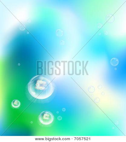 underwater jelly fish