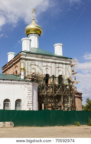 Restoration Of The Church, Beheaded During The Soviet Period